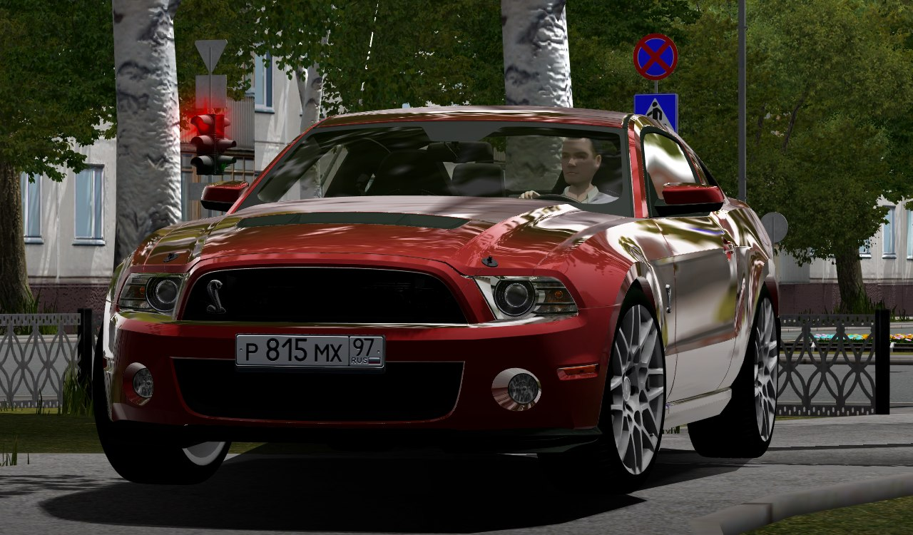City Car Driving 1.5.9 – Ford Mustang Shelby GT500